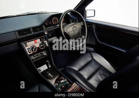 1995 Mercedes Benz E220 Convertible - Stock Photo