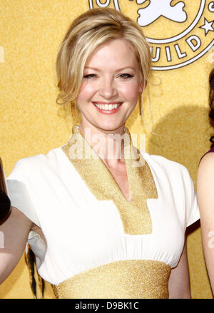 Gretchen Mol 18th Annual Screen Actors Guild Awards (SAG Awards) held at The Shrine Auditorium - Press Room Los - Stock Photo