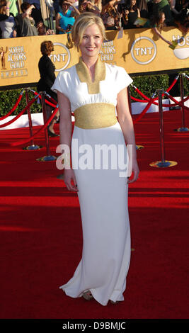 Gretchen Mol 18th Annual Screen Actors Guild Awards (SAG Awards) held at The Shrine Auditorium - Red Carpet Arrivals - Stock Photo