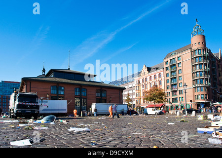 fish auction hall fishing port denia valencia costa blanca spain stock photo 17402286 alamy. Black Bedroom Furniture Sets. Home Design Ideas