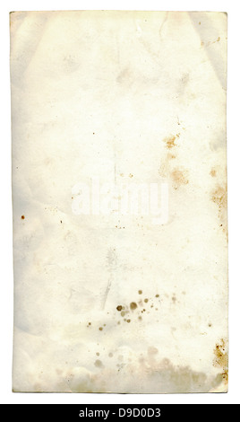 Isolated grunge paper - Stock Photo