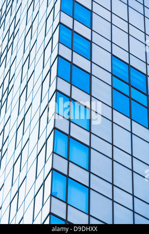 Facade of an office building with a lot of glass Stock Photo