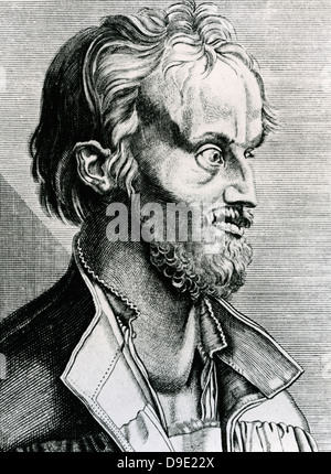 Philip Melanchthon (1497-1560) German theologian and religious reformer. - Stock Photo