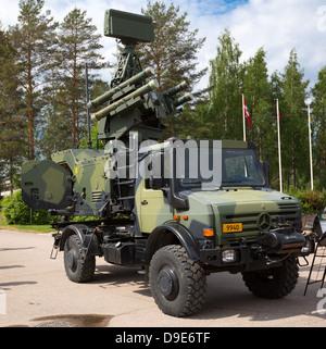 Finnish Army Bolide Short Range Air Defense Shorad Laser