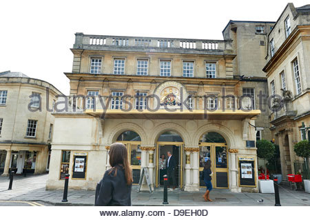 New Theatre Royal  in Bath in Somerset , England, UK - Stock Photo