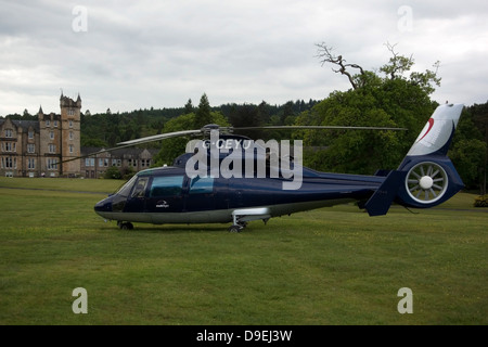 1988 Eurocopter AS365 Dauphin N1 Helicopter - Stock Photo