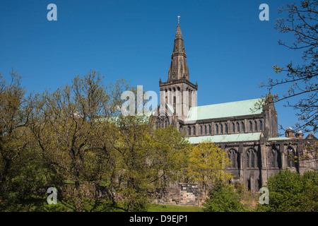 The imposing cathedral built during the 13th to 15th centuries. - Stock Photo
