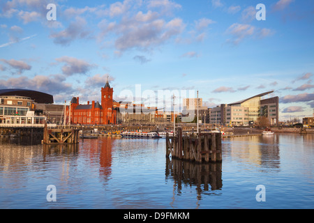 Cardiff Bay, Cardiff, Wales, UK - Stock Photo