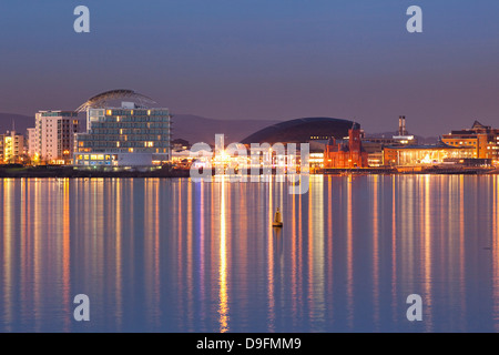 Cardiff Bay, Wales, UK - Stock Photo