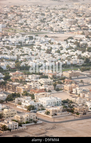 View over Doha, Qatar, Middle East - Stock Photo