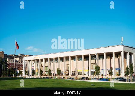 Theatre of Opera and Ballet, Tirana, Albania - Stock Photo