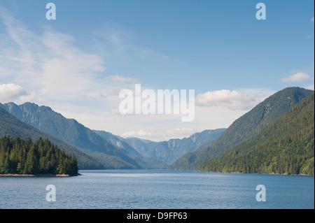 Inside Passage, British Columbia, Canada - Stock Photo