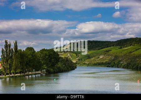 Main valley, Franconia, Bavaria, Germany - Stock Photo