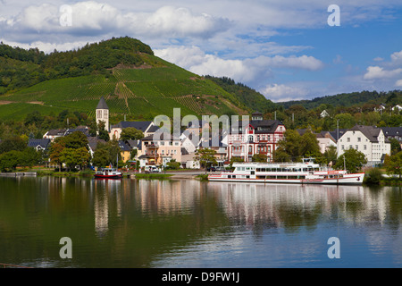 Moselle River, Germany - Stock Photo