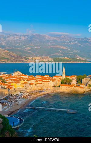 Old Town (Stari Grad), Budva, Montenegro - Stock Photo