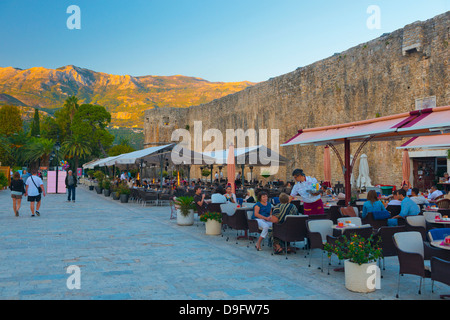 Old Town (Stari Grad), Budva, Montenegro - Stock Photo