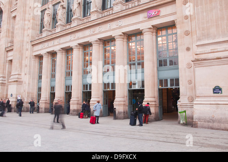 Gare du Nord railway station in Paris, France - Stock Photo