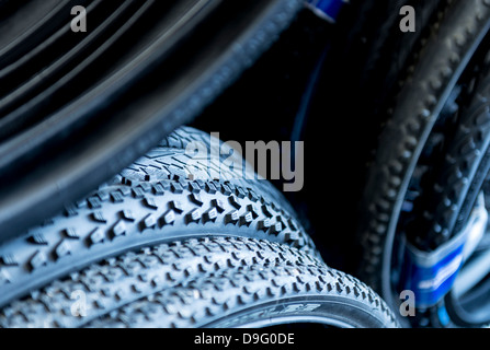 Bicycle Tyres - Stock Photo
