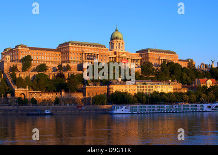 Hungarian National Gallery, Budapest, Hungary - Stock Photo