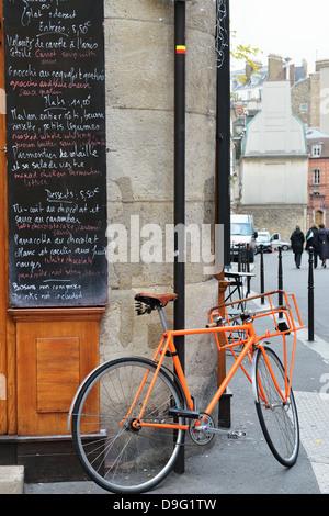 Street Scene, Paris, France - Jan 2012 - Stock Photo