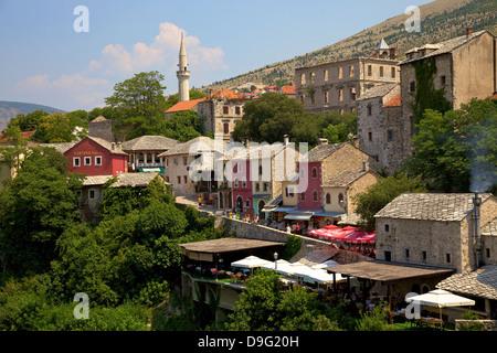 Mostar, Bosnia, Bosnia-Herzegovina - Stock Photo