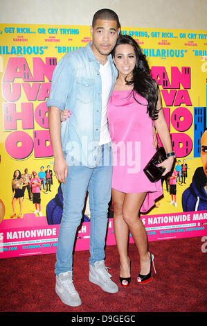 Guest at the UK premiere of 'Anuvahood' at Empire cinema in Leicester Square.  London, England - 15.03.11 - Stock Photo