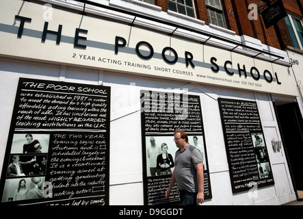 The Poor School stage school in Kings Cross, London - Stock Photo