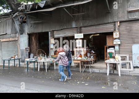 Mercato delle Pulci, Flea Market, Palermo, Sicily, Italy - Stock Photo