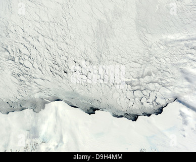 Early spring in the Antarctic. - Stock Photo