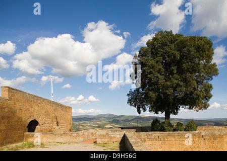europe, italy, umbria, orvieto, albornoz fortress