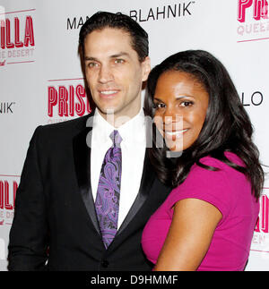 Will Swenson and Audra McDonald Opening night after party for the Broadway musical production of 'Priscilla Queen - Stock Photo