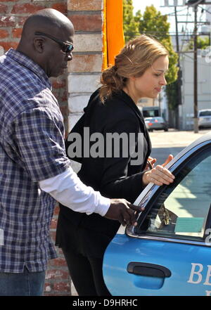 Petra Nemcova  arrives at a dance studio to rehearse for 'Dancing With The Stars' Los Angeles, California - 22.03.11 - Stock Photo