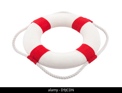 Lifebuoy with clipping path - Stock Photo