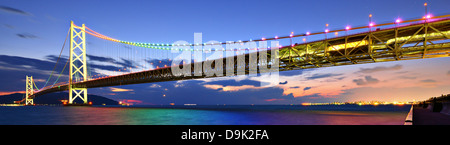 Pearl Bridge in Kobe, Japan. - Stock Photo