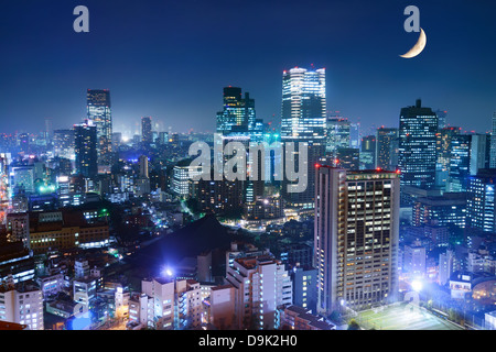 Tokyo cityscape at the Roppongi District. - Stock Photo