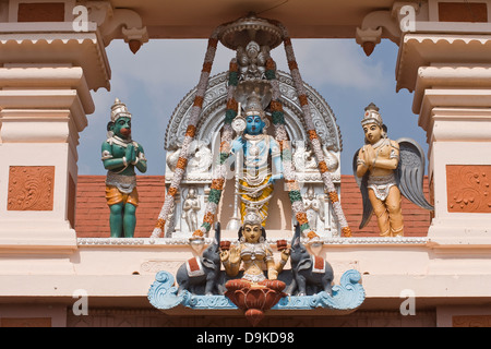 Asia, India, Karnataka, Udipi, Udupi Shree Krishna Temple - Stock Photo