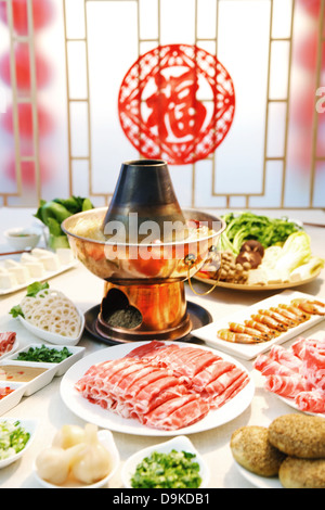 Delicious food on the table - Stock Photo