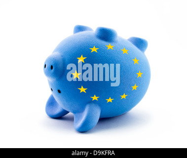 European economic crisis - Stock Photo