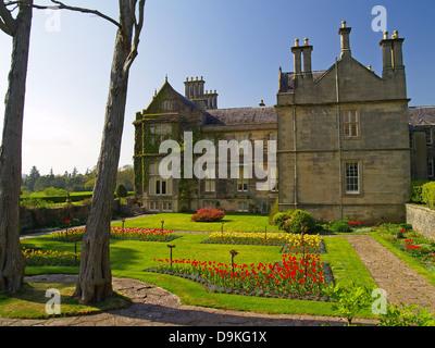 Muckross House and gardens,Killarney National Park,Ireland - Stock Photo