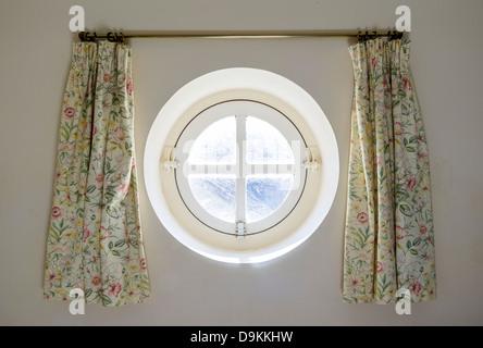 Round Shaped Porthole Window. - Stock Photo