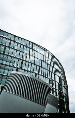 The new Co Op head office building at No.1 Angle Square in Manchester, UK - Stock Photo