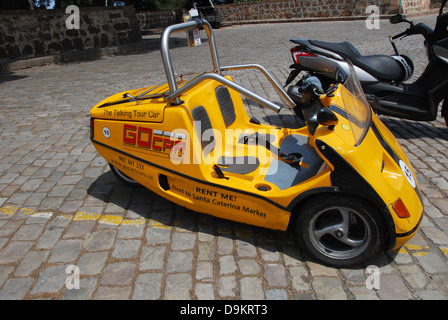 sight seeing vehicle in Barcelona Spain Europe - Stock Photo