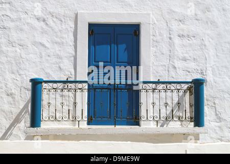 Traditional Greek House traditional greek house on sifnos island, greece stock photo
