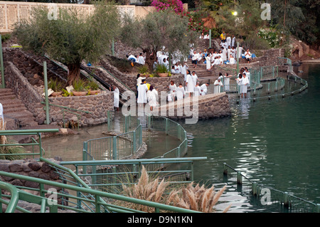 Yardenit ,baptismal site in the Jordan River, Israel - Stock Photo