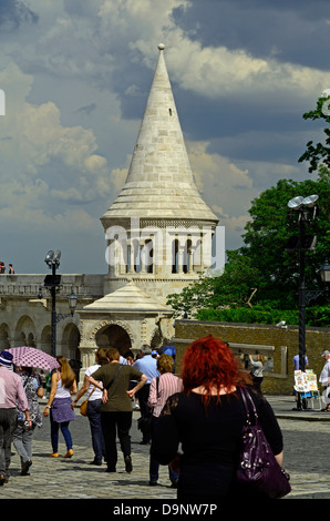 Fishermen's Bastion Budapest Hungary Europe - Stock Photo
