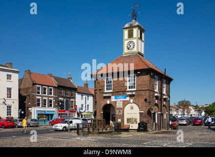 Yarm High street, Yarm near Stockton on Tees, England, UK - Stock Photo