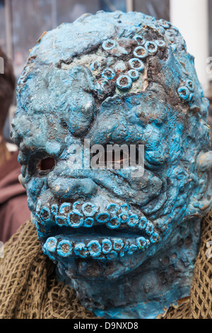 England, London, Stratford, Annual Sci-fi Costume Parade, Sci-fi Monster - Stock Photo