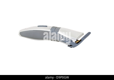 electric hair clipper isolated on a white background - Stock Photo