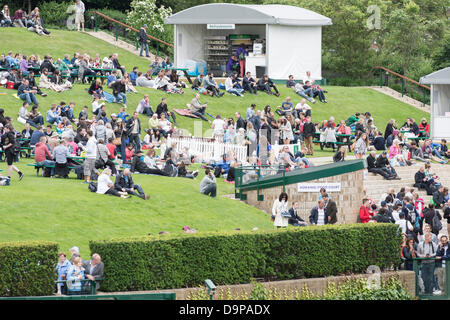 The All England Lawn Tennis and Croquet Club, London, UK. 24th June 2013. The Wimbledon Tennis Championships 2013. - Stock Photo