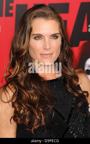 New York, NY, USA. 23rd June, 2013. Brooke Shields at arrivals for THE HEAT Premiere, The Ziegfeld Theatre, New - Stock Photo